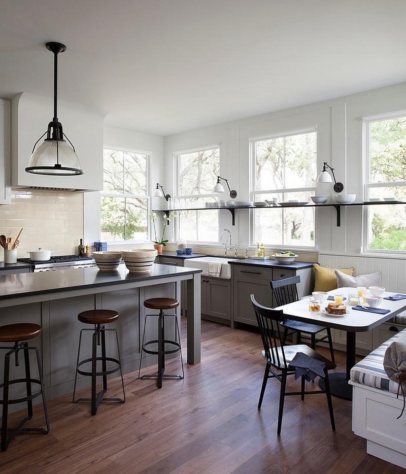 natural light kitchen plan