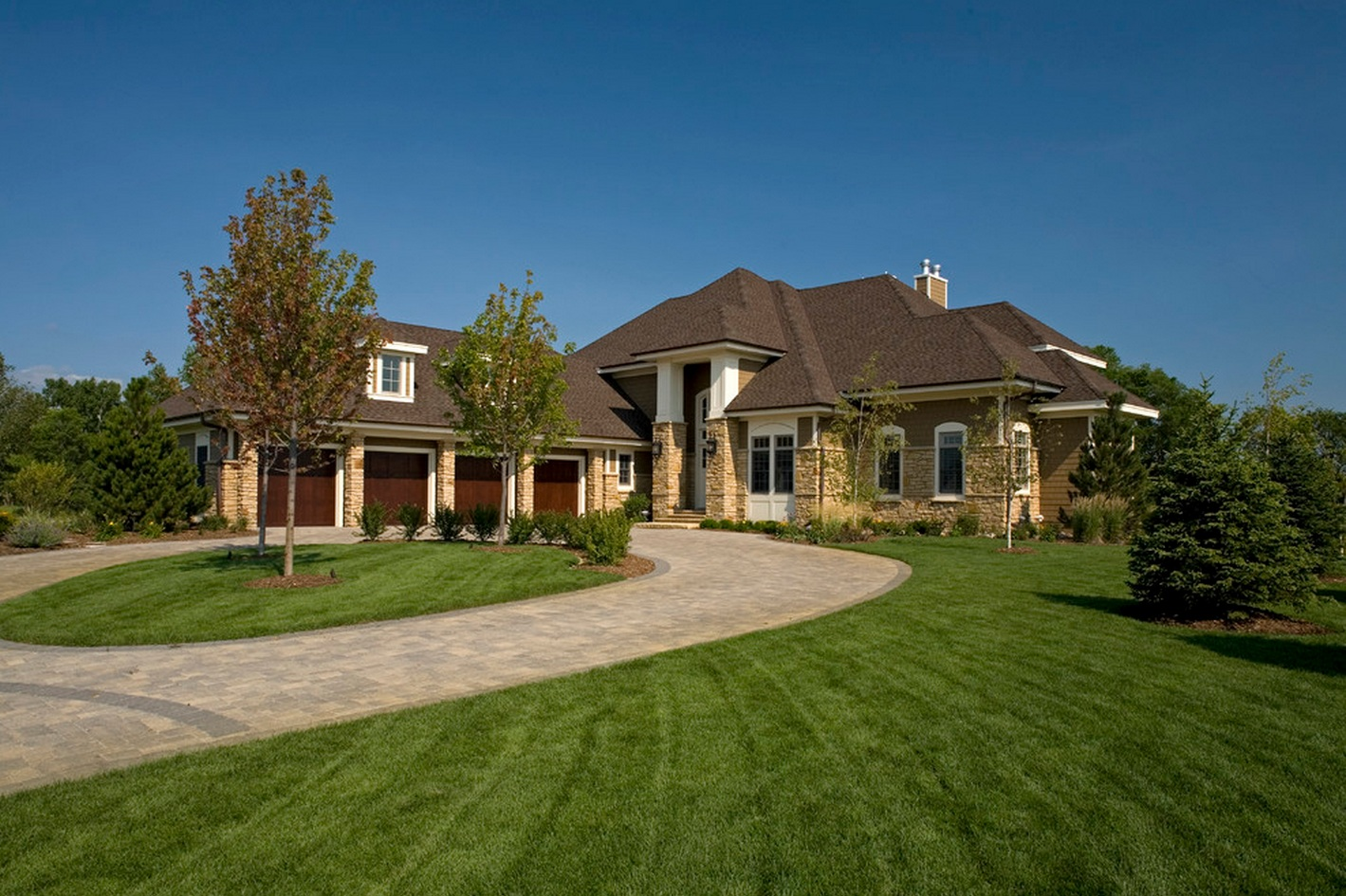 Classically american amazing house has typical american for American classic homes mn