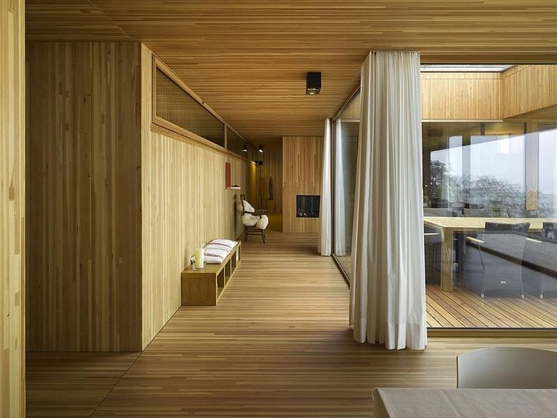 brutalist home interior
