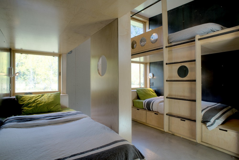 Bunk Beds In Plywood