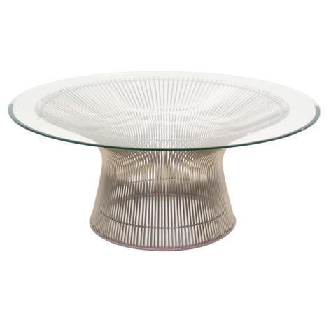 Platner 36-Inch Coffee Table by Knoll