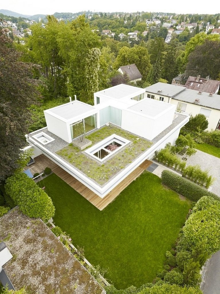 amazing minimalistic house white house