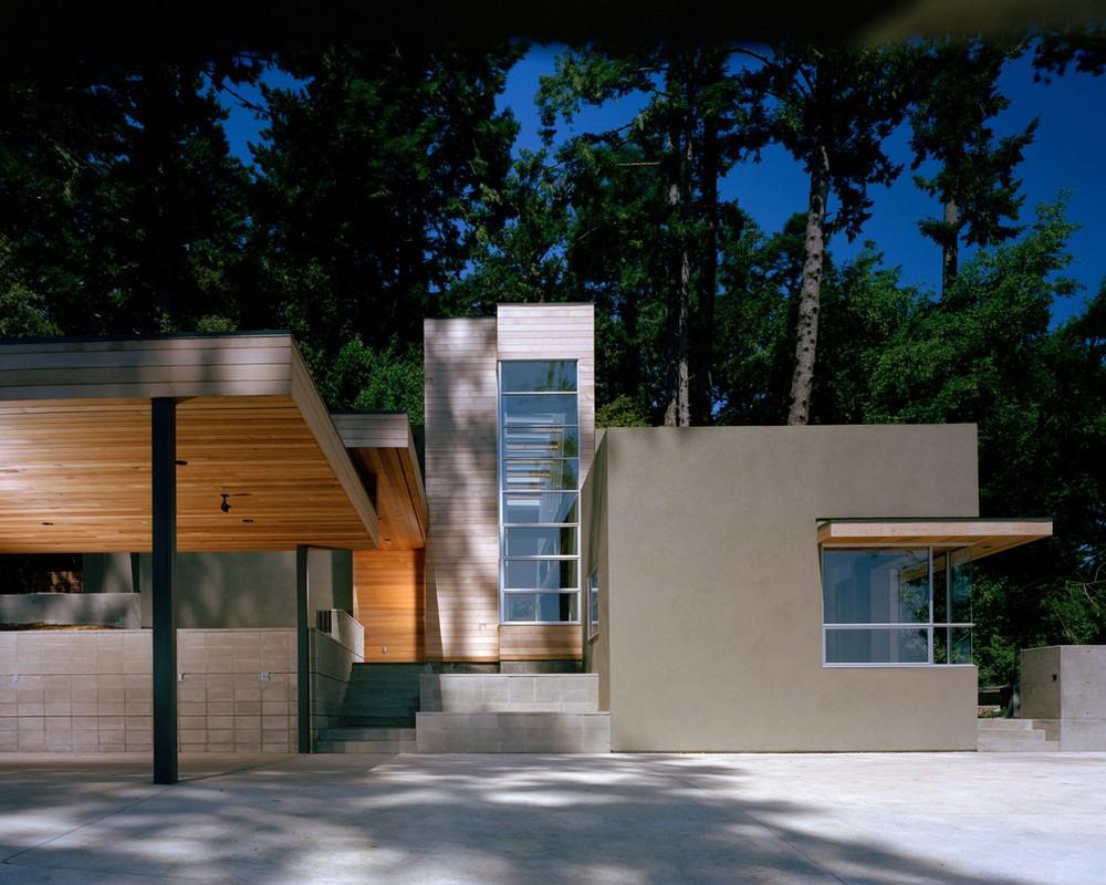 cedar forest contemporary structure
