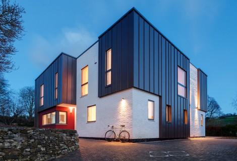 contemporary zinc cladding panels