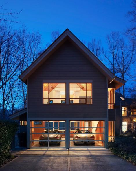 double storey garage