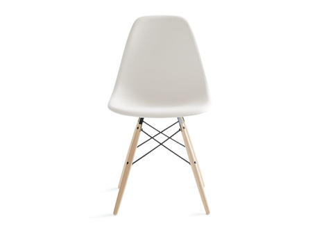 eames molded plastic chair with dowel legseames molded plastic chair with dowel legs