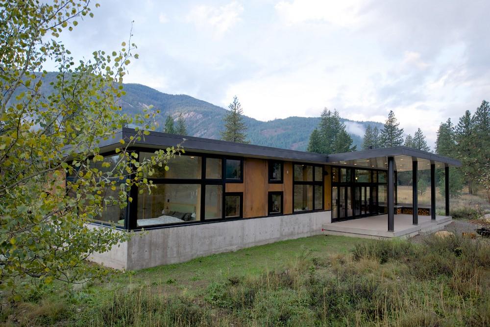 hillside contemporary homemodern