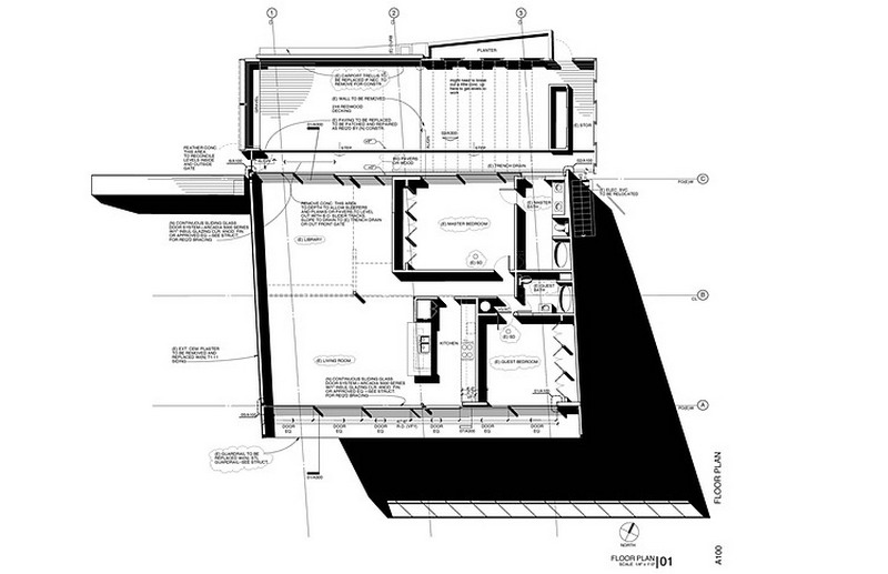 house on a hill plans