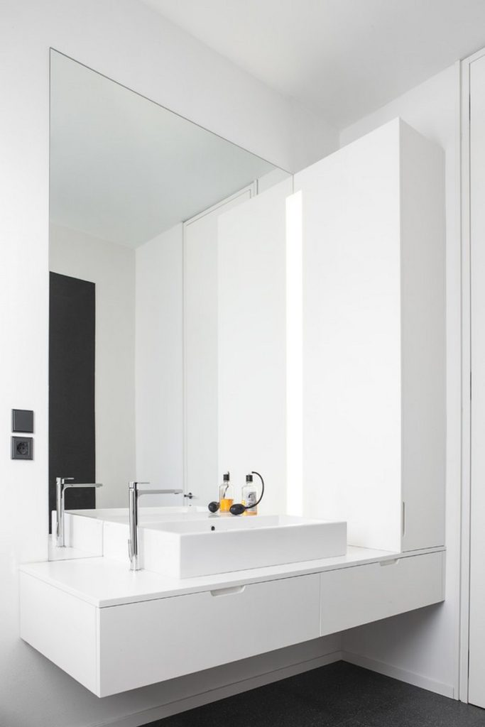 minimalist architecture bathroom