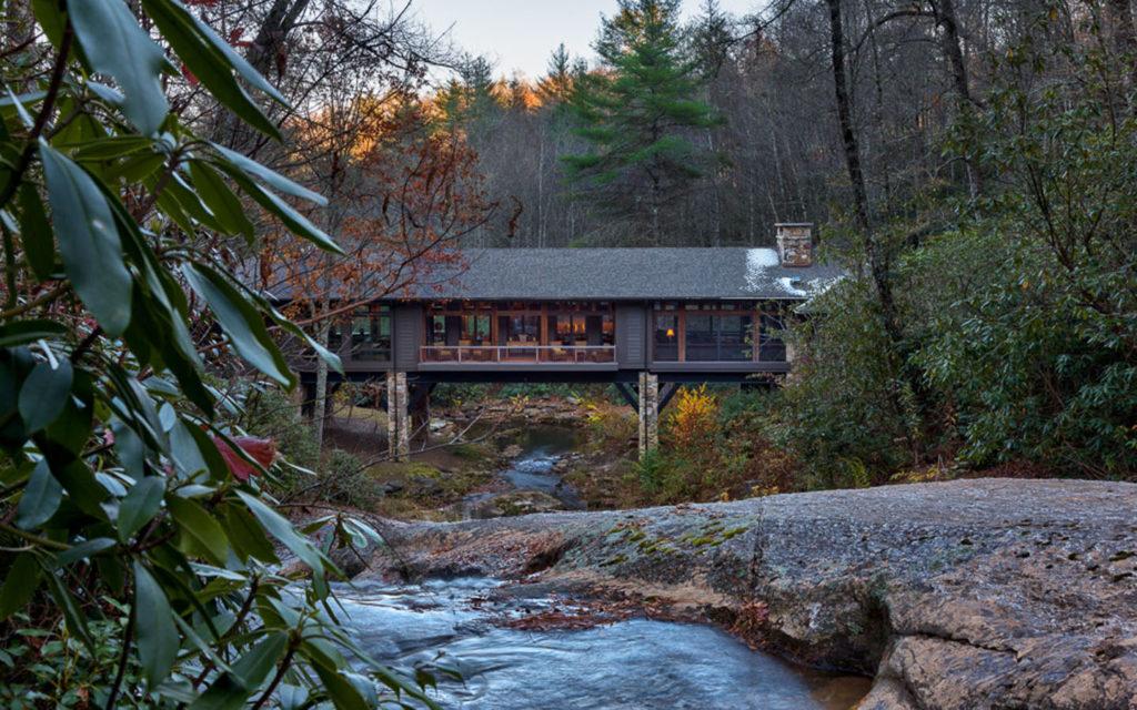 rural bridge ghouse retreat