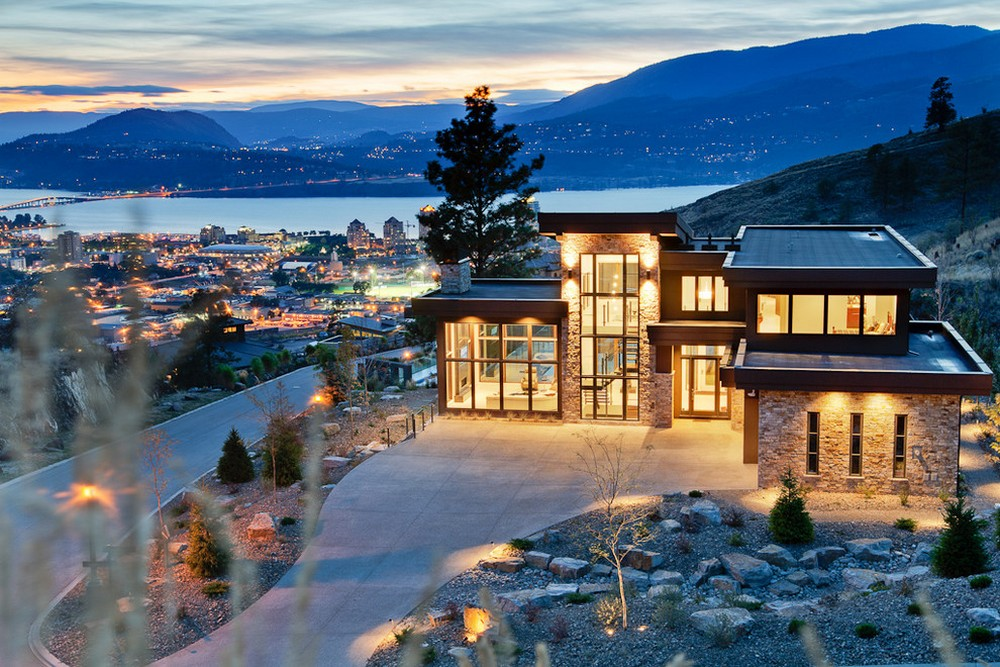 stunning views modern home