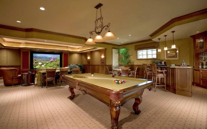 20 Mind Blowing Billiards Room Designs