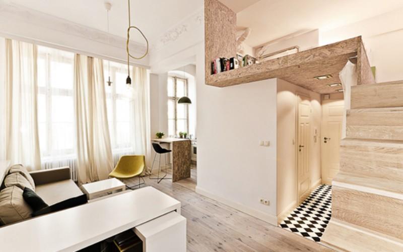 ideen für die inneneinrichtung kleiner lofts - Inneneinrichtungs Ideen