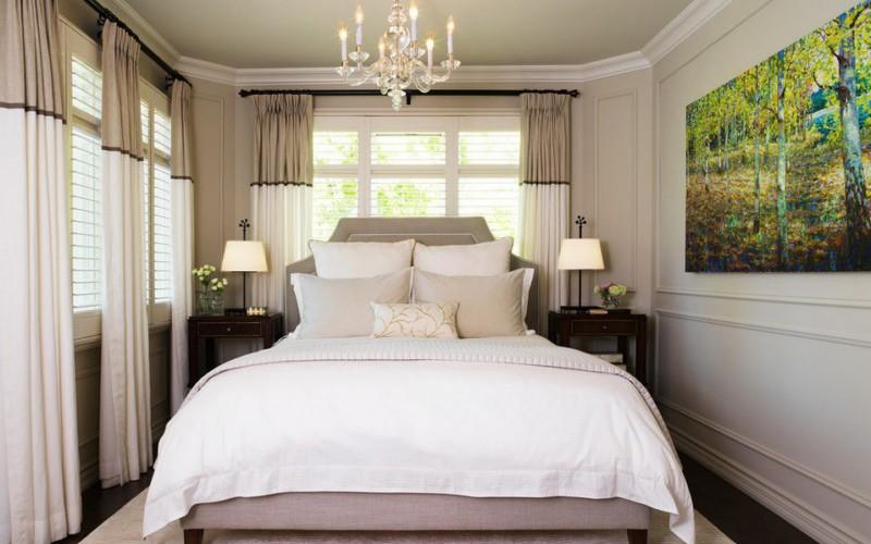 47 фото-идей интерьера небольшой спальни в доме или квартире