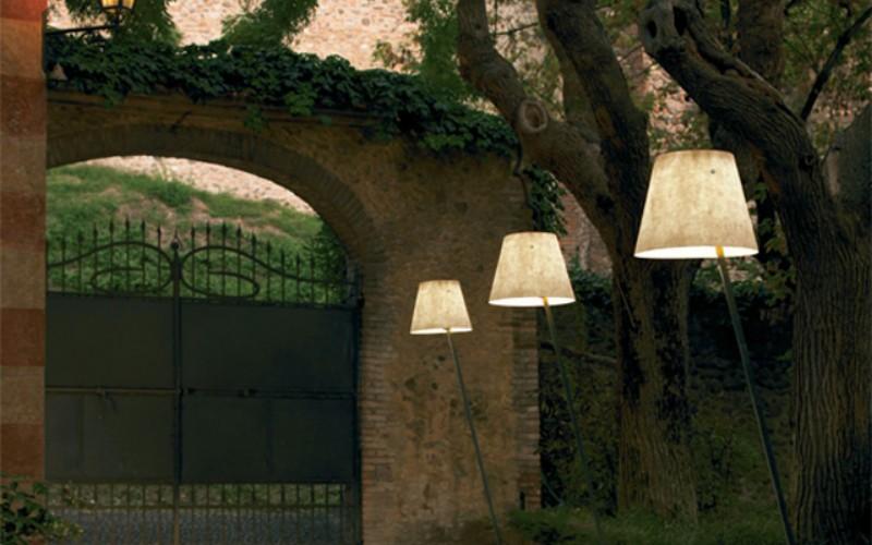 Идеи освещения пространств на открытом воздухе