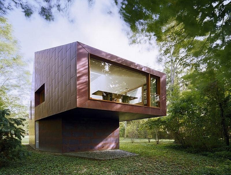 unique modern angular construction