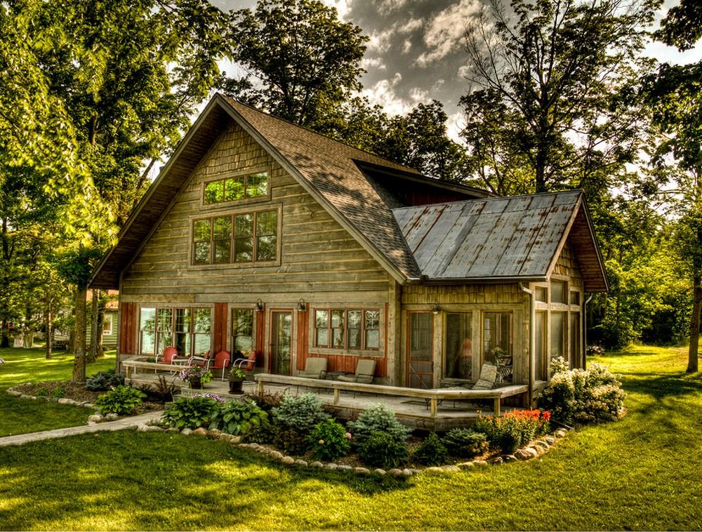 wooden log cabin minneapolis