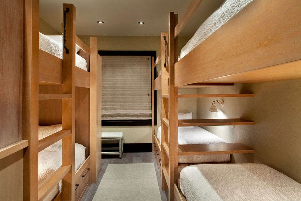 Narrow Space With Bunk Beds