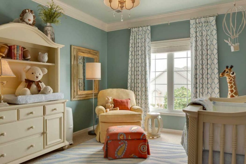 childs bedroom light blue walls