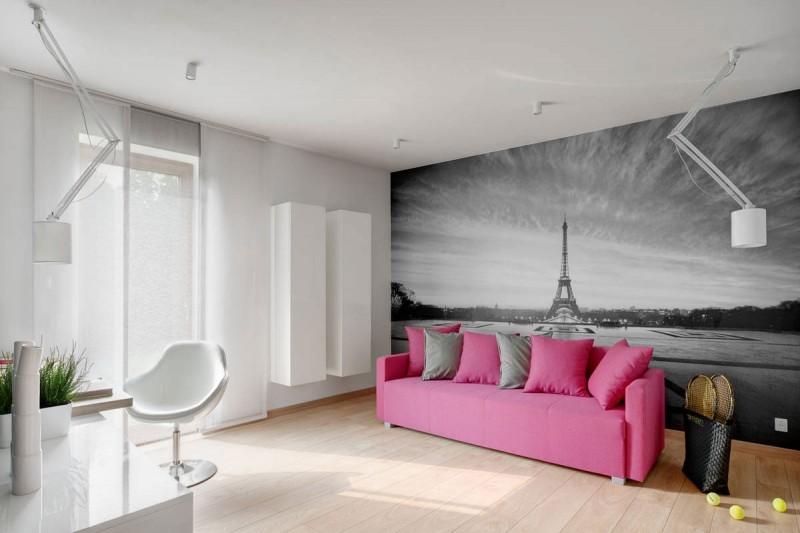 greyscale apartment