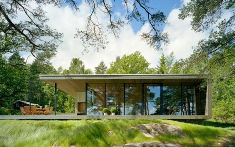 intresting futuristic home