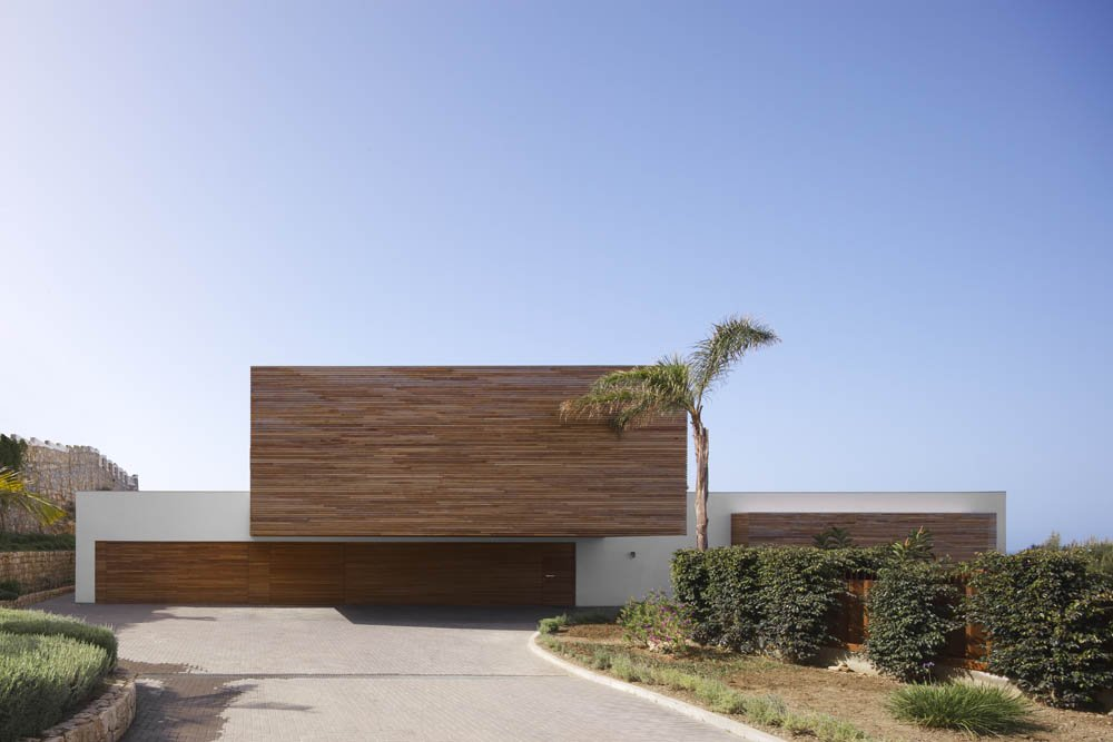 modern indoor facade